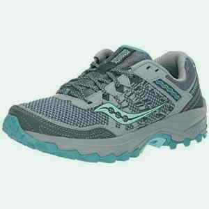 Saucony Women's Grid Excursion TR12 Sneaker-best pickleball shoes for plantar fasciitis.