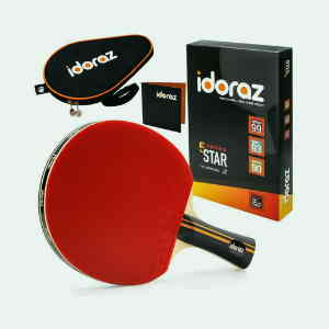 Idoraz Table Tennis Paddle Professional Racket