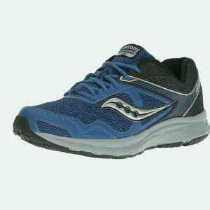 Saucony Men's Cohesion 10 Running Shoe-(Best Running Shoes with Wide Toe Box)
